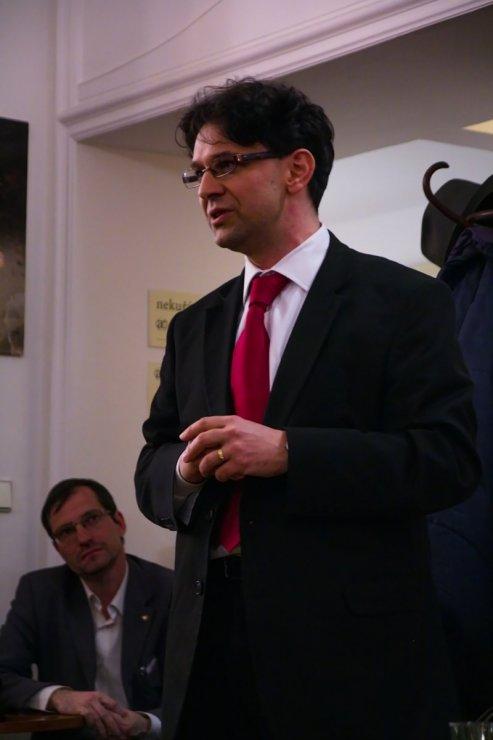 Mgr. Petr Valo, ředitel nakladatelství Karolinum